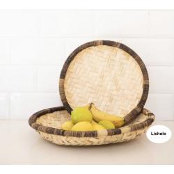 Lichelo Bamboo Woven Basket
