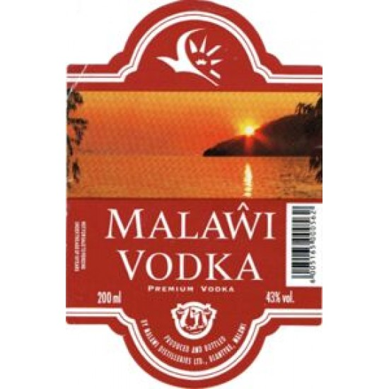 MALAWI PREMIER VODKA 750ml