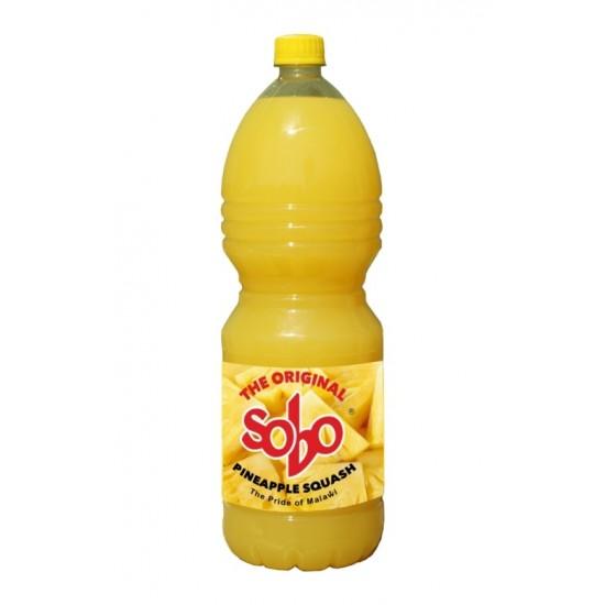 Sobo Pineapple Squash 2L  (expires on 1st Oct 21)